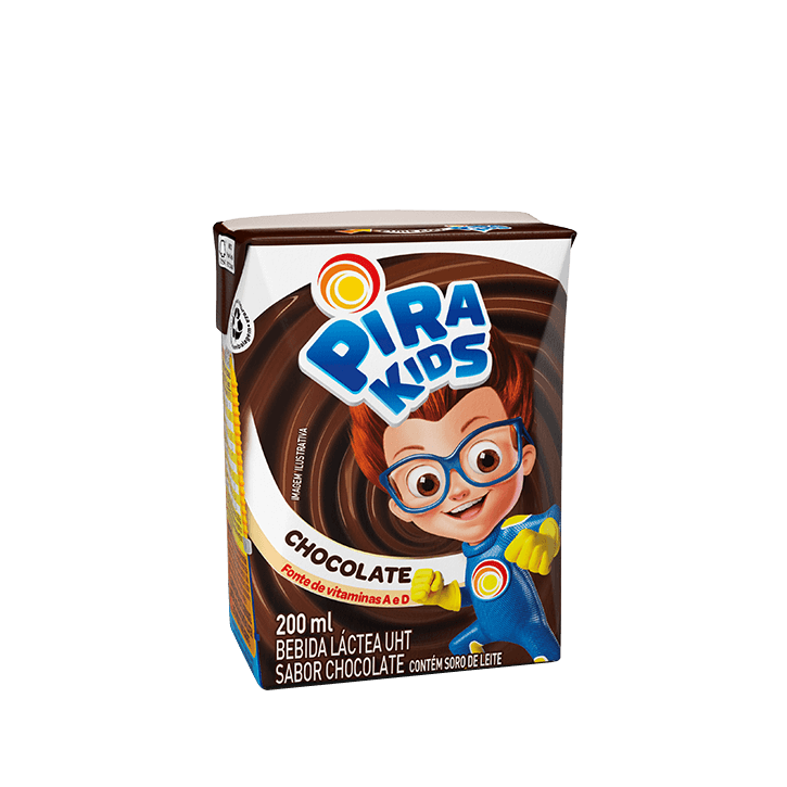 Achocolatado Pirakids 200 ml