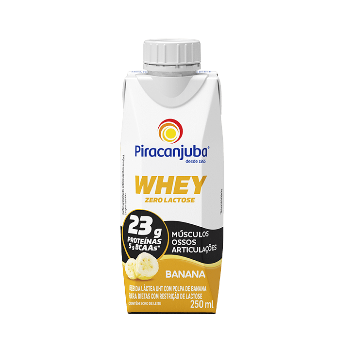 Whey Zero Lactose Banana 250 ml
